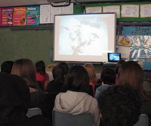 CZenato Cristina Zenato Teaches School Children the Importance of Coral Reefs and Underwater Caves via Skype
